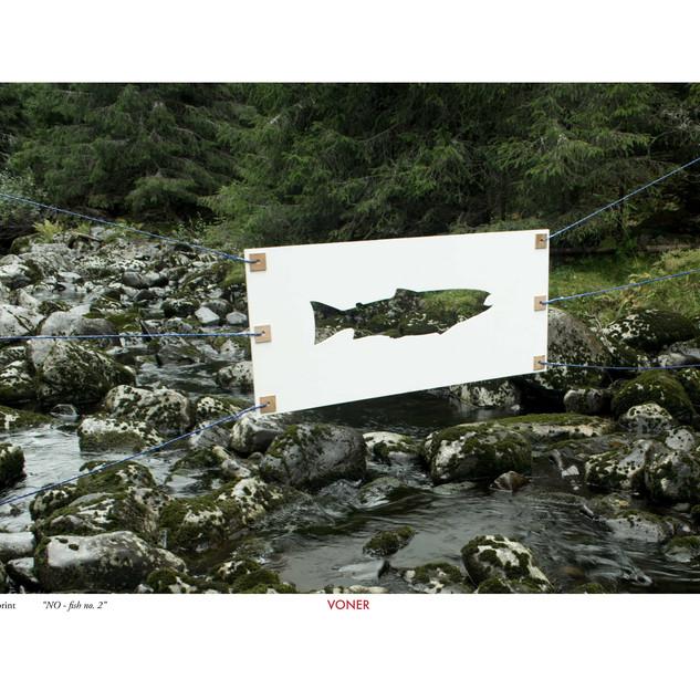 NO fish no. 3 A3 Artprint