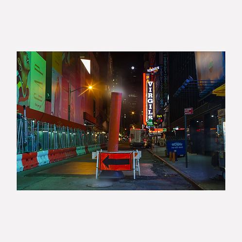 Manhattan Time Square © Cristian Castelnuovo