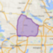 Paws 'N' Lawns Poop Scooping Pet Waste Management Fort Worth Keller Southlake Colleyville Service Area Map