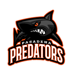 Pasadena Predators - Black Shark logo_pn