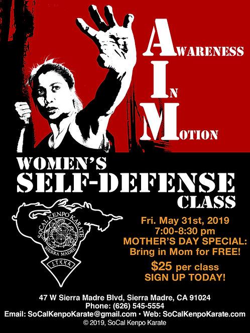 AIM Women's Self-Defense Class 5/31