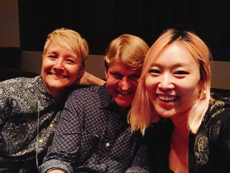 Wonderful colaborators on OVER THE MOON-Margie and Helen.jpg