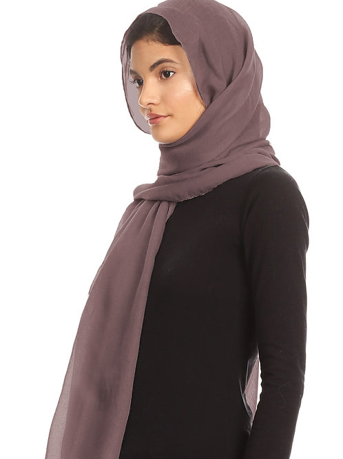 Dark Mauve Viscose
