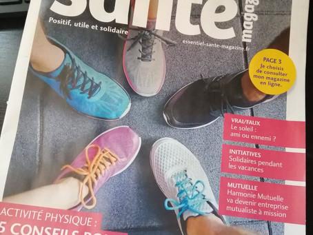 Essentiel Santé Magazine, numéro 62.