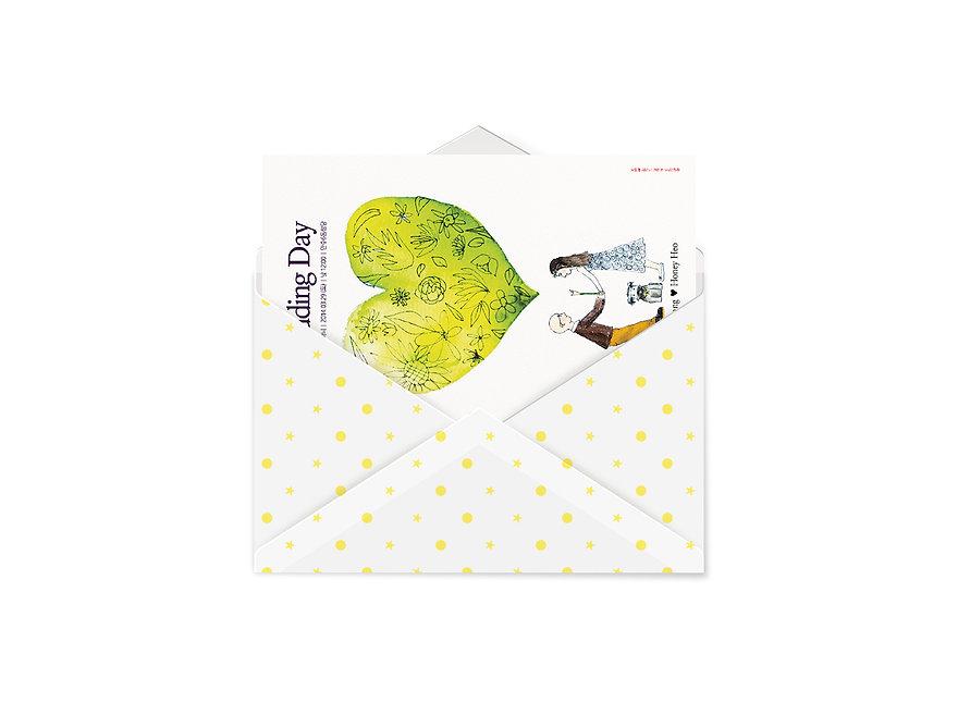 Wedding Invitations-Envelope Design