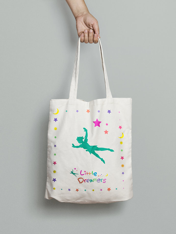 Little Dreamers-Tote Bag Design