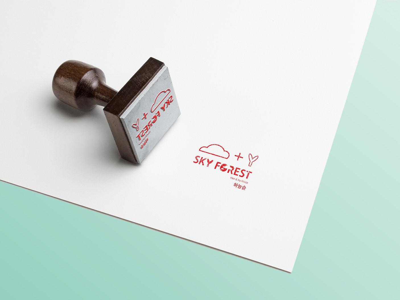 Sky Forest-Stamp Design