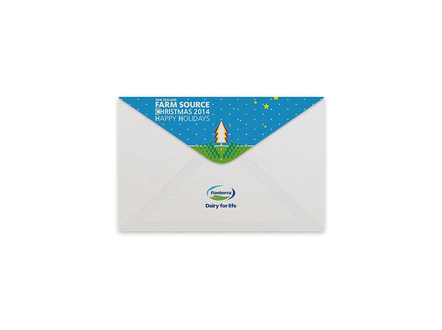 Farm Source-Christmas Card Design