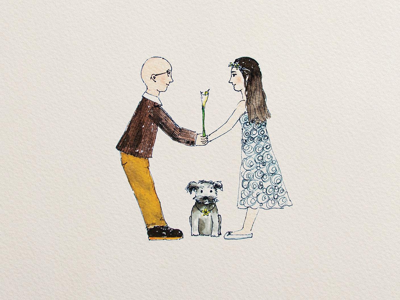 Wedding Invitations-Illustration