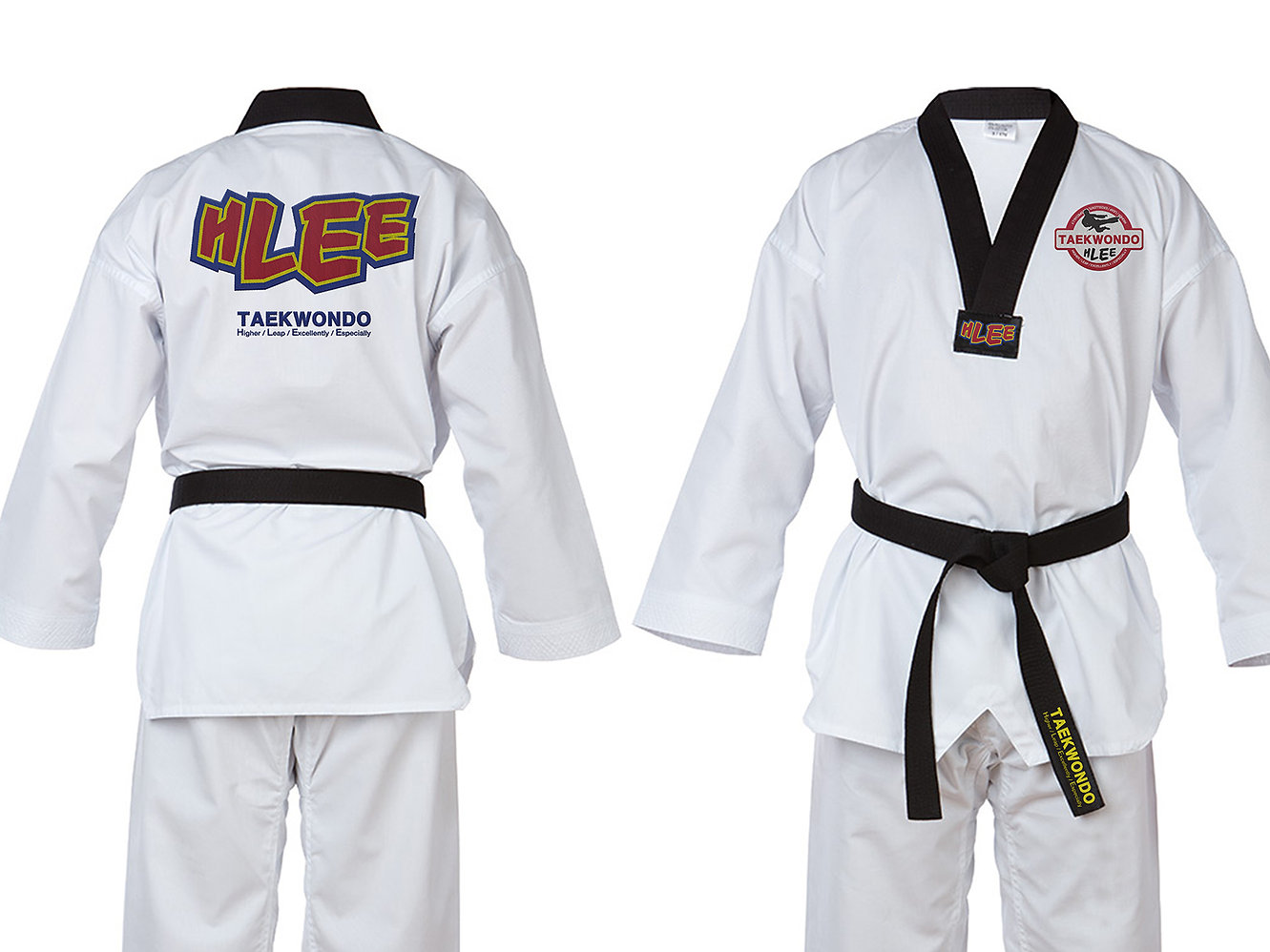 H Lee Taekwondo-Logo Design