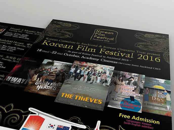 Korea Festival in Auckland-Flyer Design