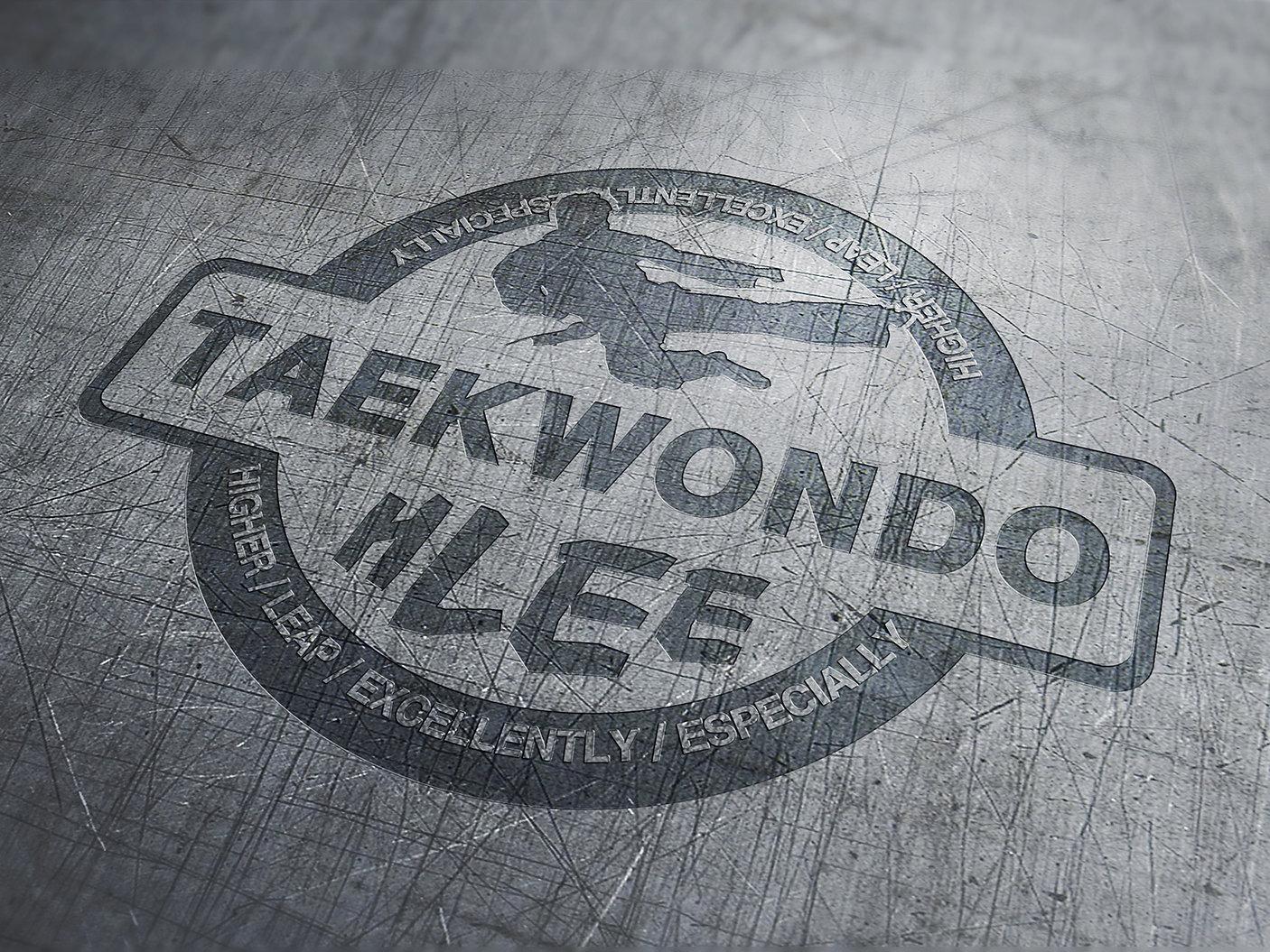 H Lee Taekwondo-Emblem Design