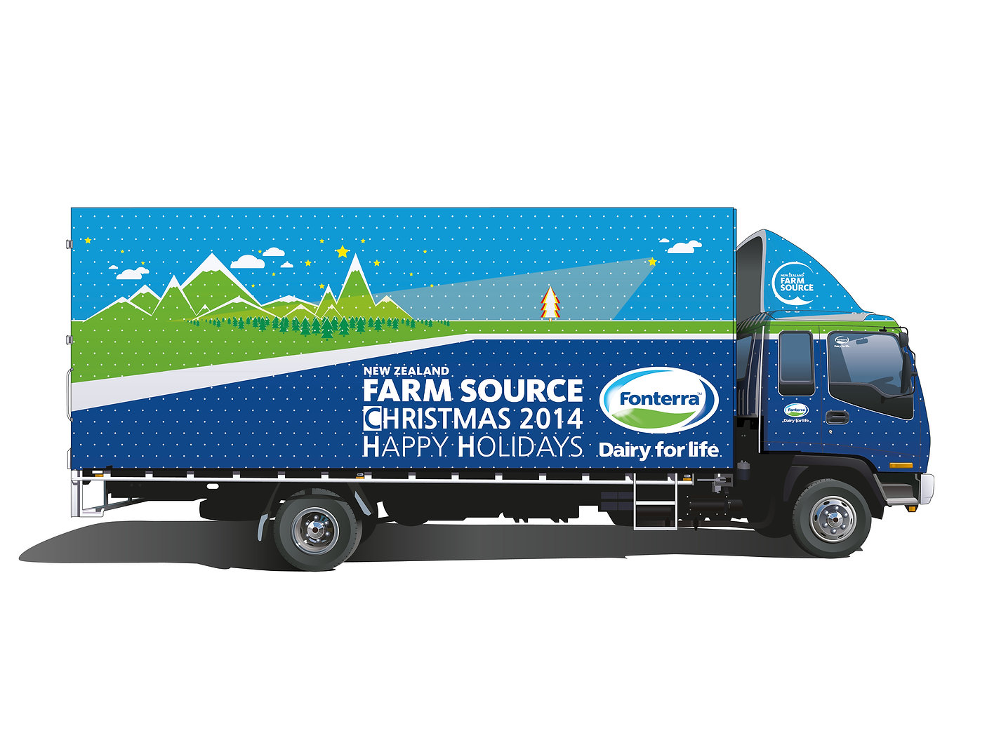 Farm Source-Christmas Design