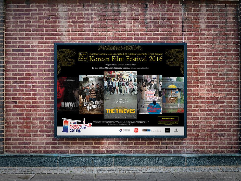 Korea Festival in Auckland-Poster Design
