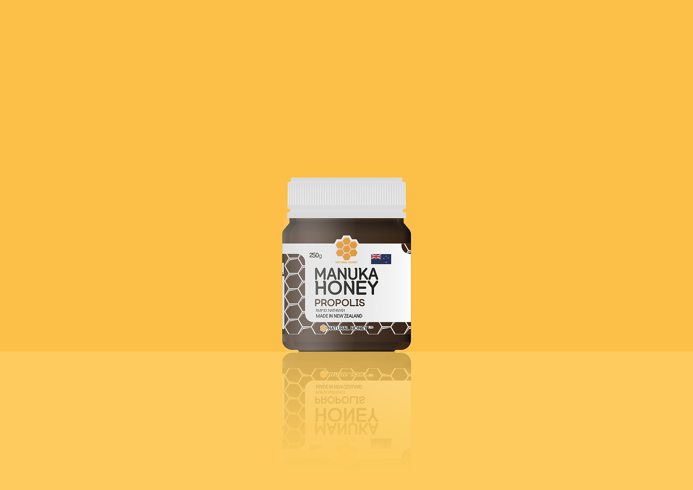 Natural Honey Ltd-Label Design