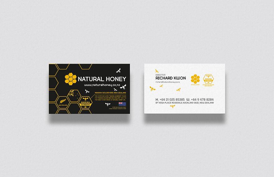 Natural Honey Ltd-Name Card Design