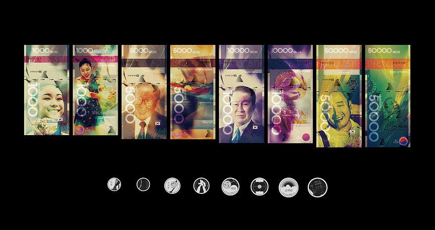 Korean Paper Money Design