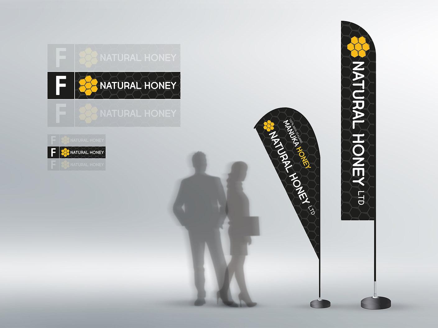 Natural Honey Ltd-Sign Design