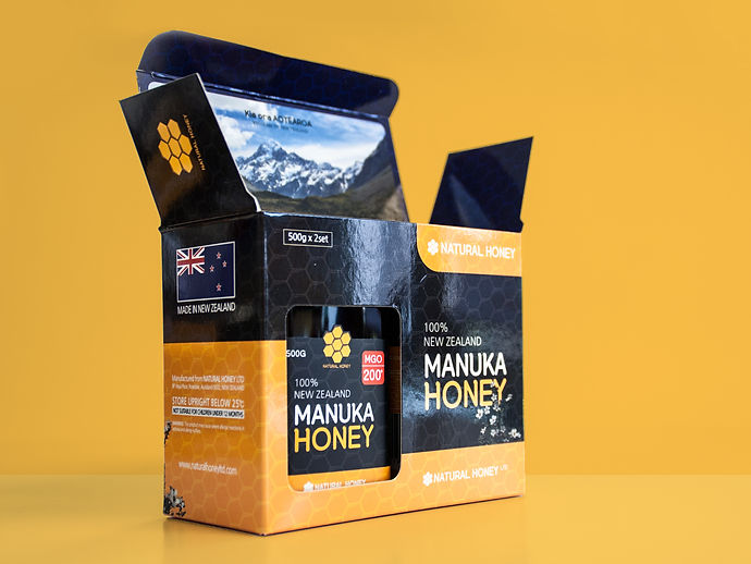 Natural Honey Ltd-Package Design