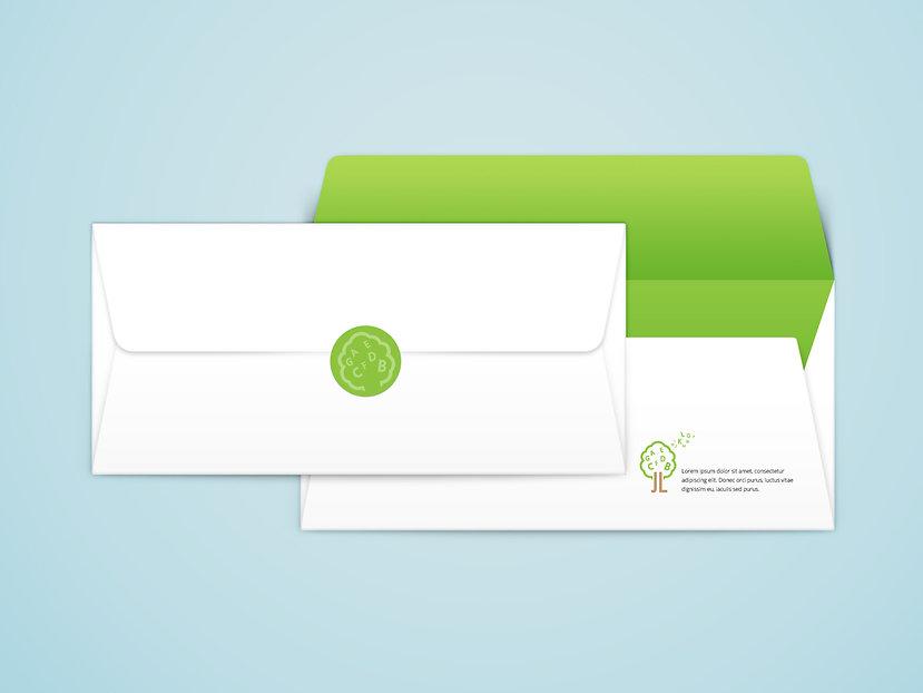 Jhon & Lisa English Academy-envelopes Design