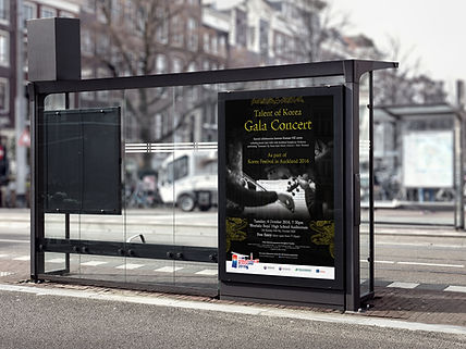 Korea Festival in Auckland-Billboard Advertisement