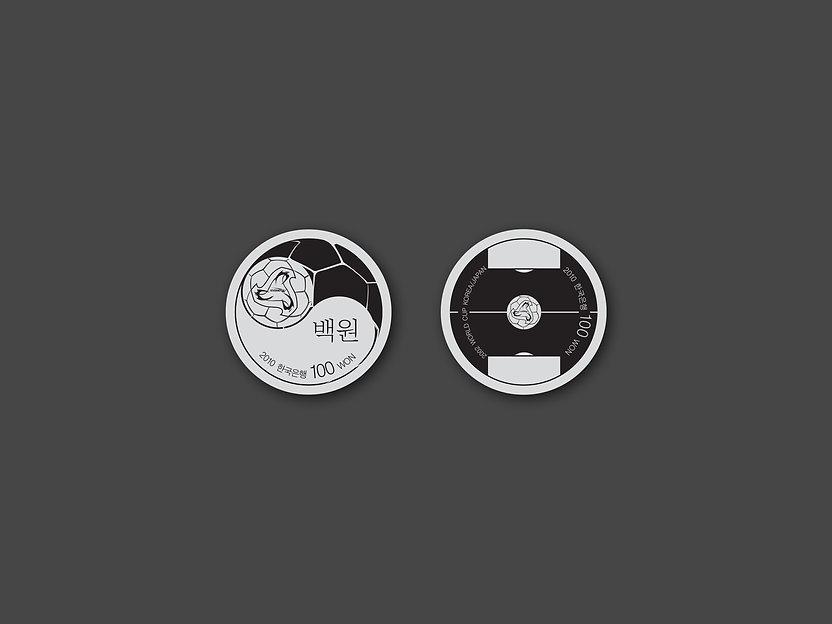 Korean Paper Money Design-100 Won