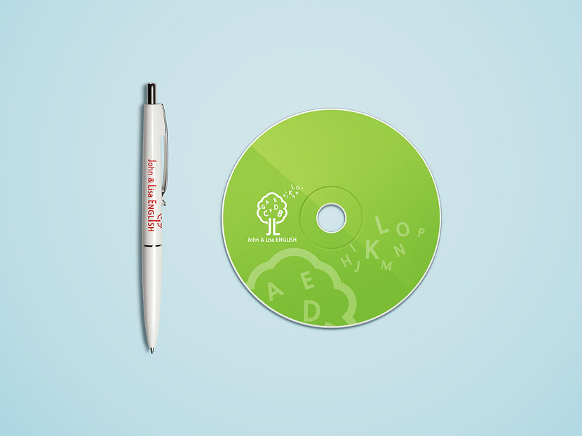 Jhon & Lisa English Academy-Mobile Promotional Design