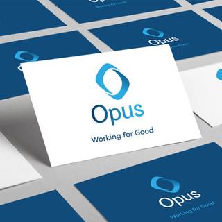 Logo design branding for Opus work