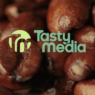 Tasty media logo design