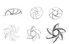 case study hand drawn logo