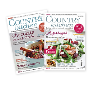 Country kitchen magazine cover