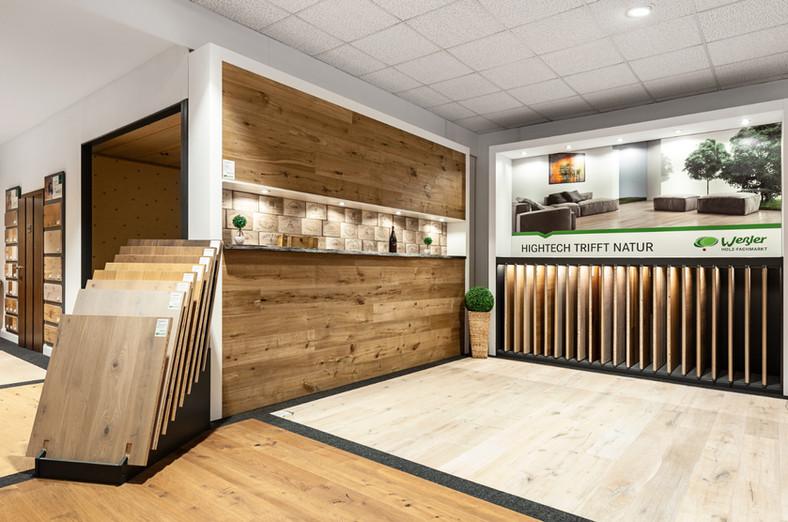 Showroom Weßler Holzfachmarkt