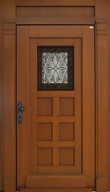 Außenansicht der Haustür.