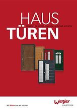 Weßler Haustüren Katalog Broschüre