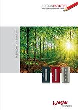 WeßlerHaustüren Edition Rotstift Katalog Broschüre