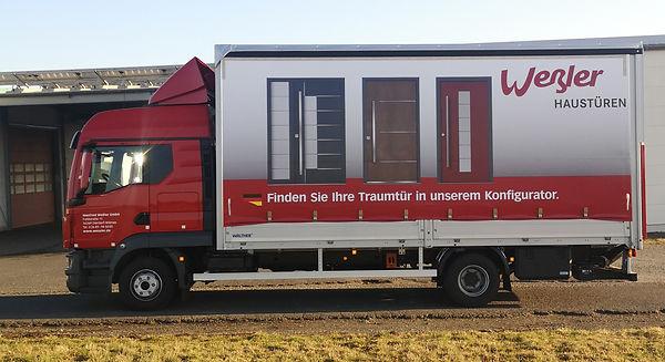 MAN TGL3 neues Modell von 2020 12.250 FM Kabine Weßler Haustüren