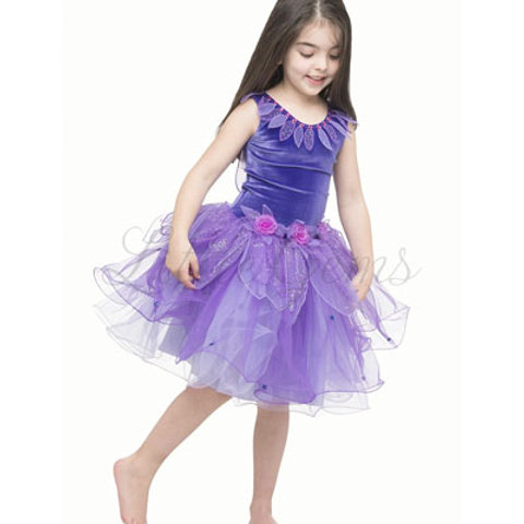 Lotus Dress in Purple