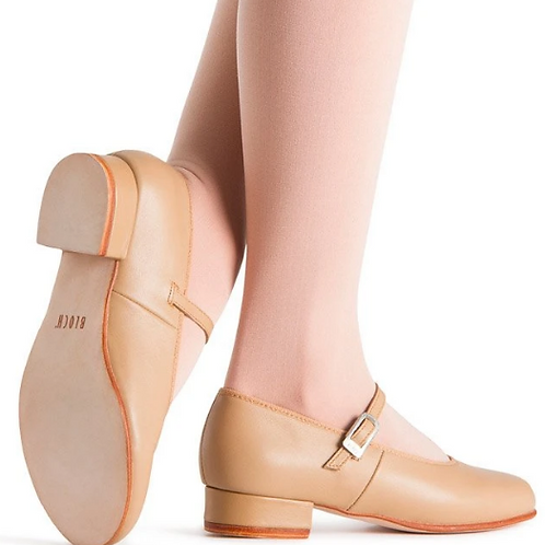 Rhythm Leather Stage and Tap Shoe -Women