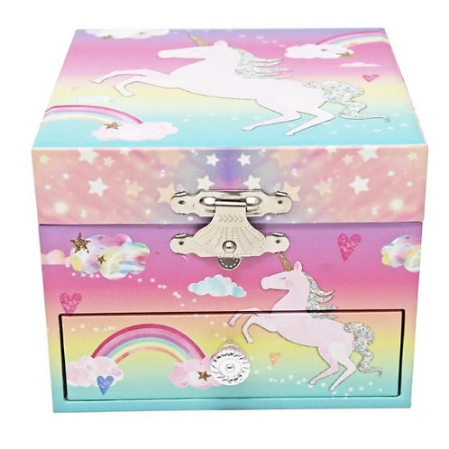Cotton Candy Dreams Small Music Box