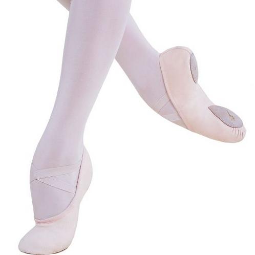 Ballet Shoe Canvas Split Sole -Adult