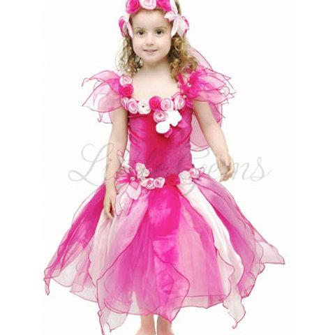 Iris Dress Hot Pink