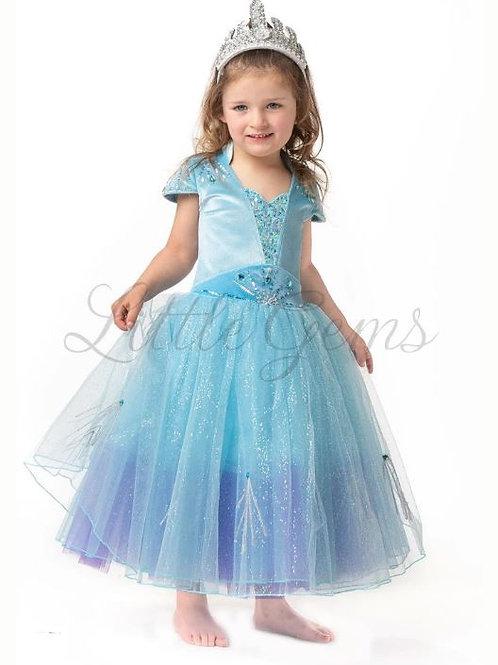 Queen Elsa Lightblue -Child