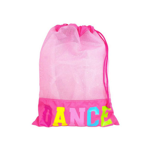 Dance in style shoe bag-hot pink