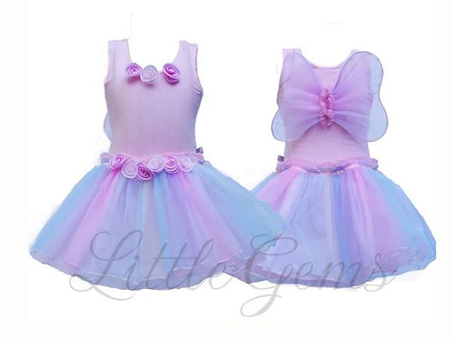 Baby Rainbow Dress Babypink -Child