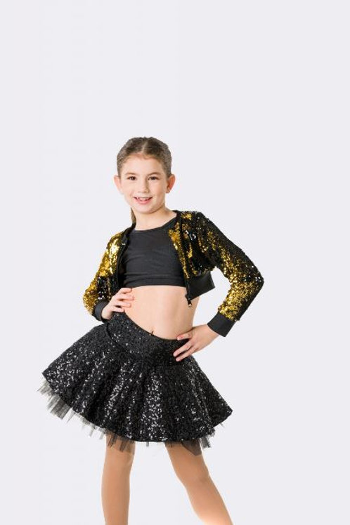 Stage Lights Cropped Jacket- Child
