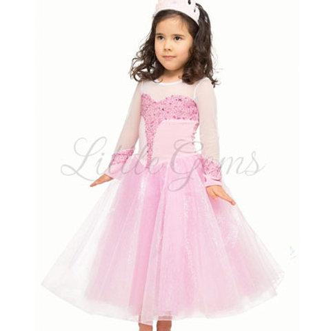 Elsa Delux Dress in Pink