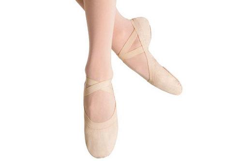 Pro Elastic Canvas Ballet Flat -Adult