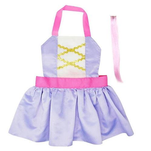 Rapunzel Apron Dress up Set - Child