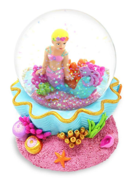Under The Sea Musical Snow Globe