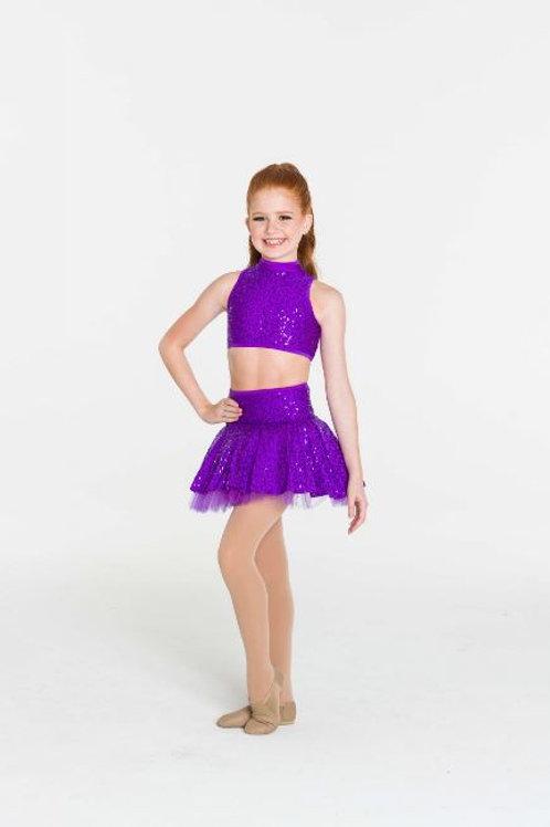 Sequin Skater Skirt-Child